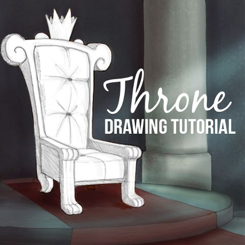 how to draw a throne with picsart