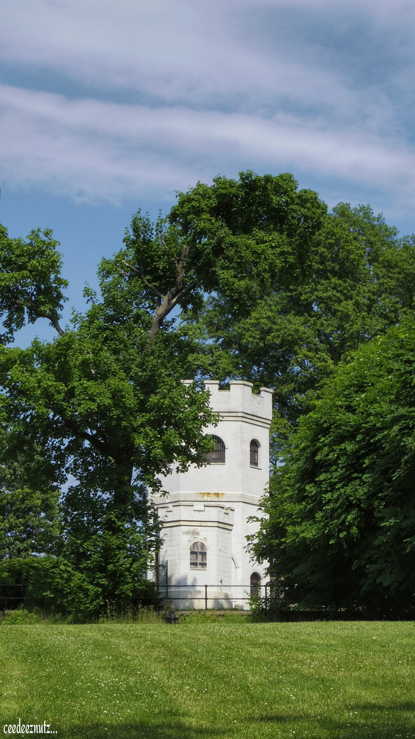 A Tiny Castle That Is In The Staten Island Gardens It