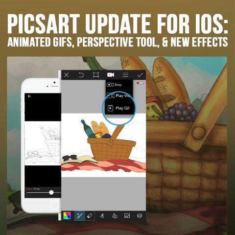 iOS photo editor update