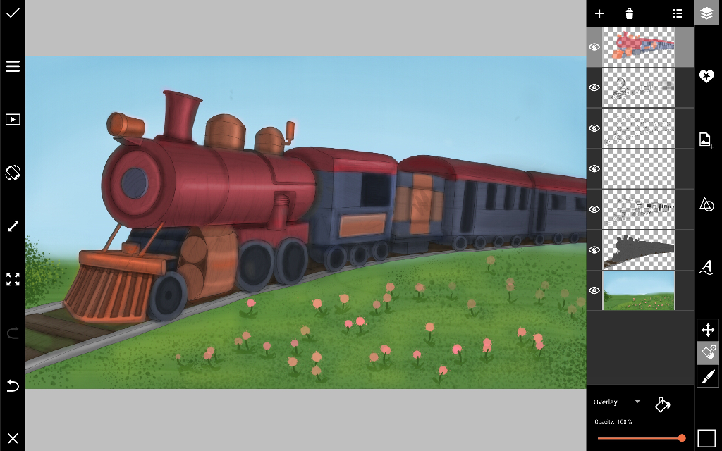 step by step tutorial on how to draw a train create discover