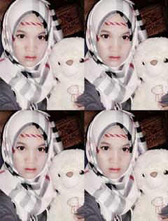 muslim hijab malaysia girl doll