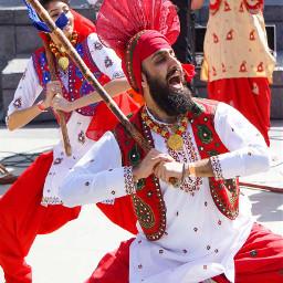 punjabi indian culture baisakhi bhangda