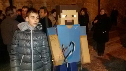 minecraft i reallife steve sword