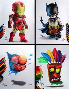 drawing art creativity colorful pencilart
