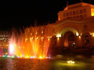 yerevan republiksquare fountains