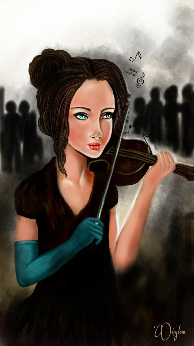 #dcstreetmusician the other girl from the window