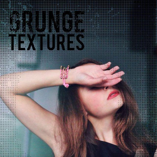 grunge texture masks