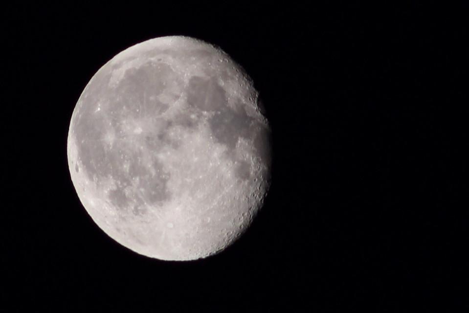 Manual shot of last nights #moon.