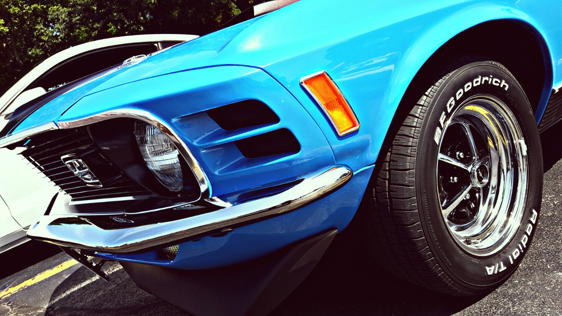 #musclecars #classiccars  #cars #hdr #vintage #mustangmach1 #photography #blue  #eyecapture