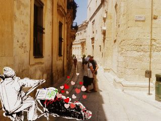 dcdrawon love street pure kiss