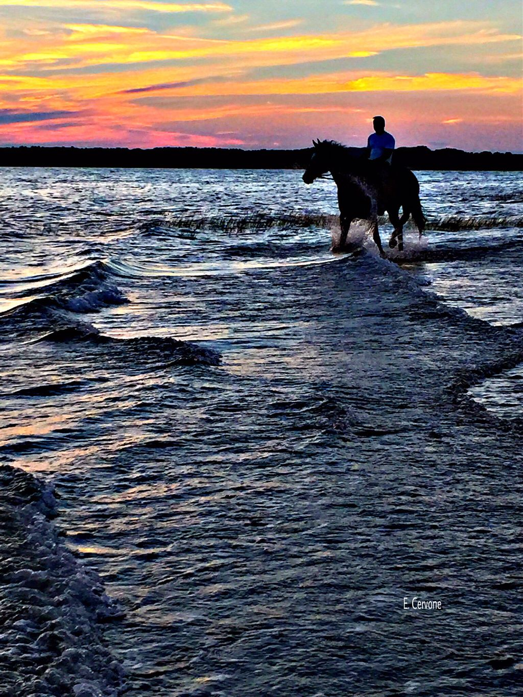 """"""" Elements of life - series """" Goodnight my friends 😍 #captured #sunset #summer #waves #clouds"""