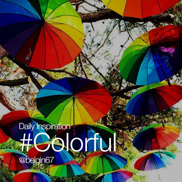 Sunday Inspiration #colorful
