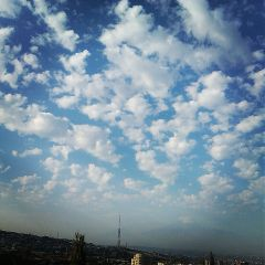 good morning clouds yerevan