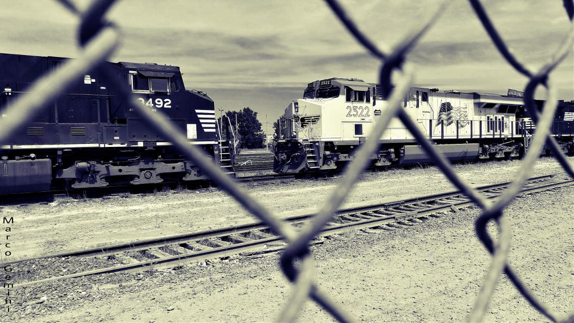 Chicago's Railroad #photography  #blackandwhite
