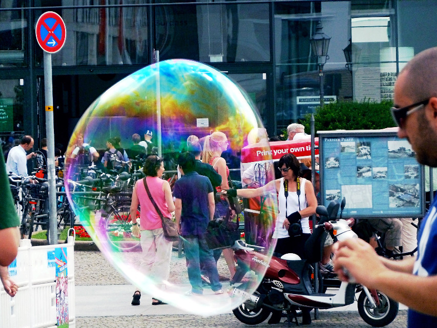 #Burbúja #Bubble #Germany