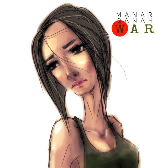 War.... #war #drawing #sketch #girl #anime #art #cartoon