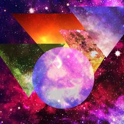 abstract shapes colourful masks shapemasks