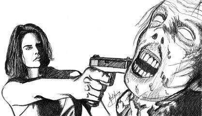 dcsketch people emotions blackandwhite artwork