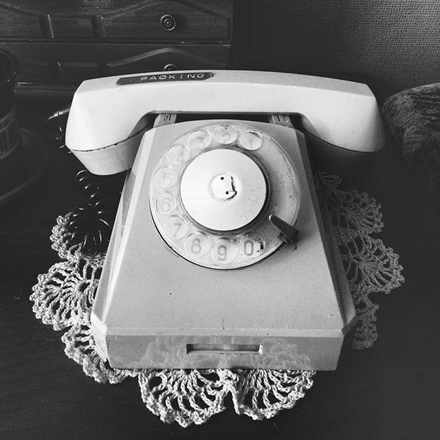 alio #phone #old #blackandwhite #bw #oldphone