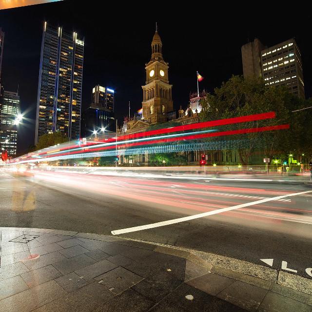 Town hall sydney        #sydney #australia #lines #layers #longexposure #night #photography #colours #city #people #movement #travel #art