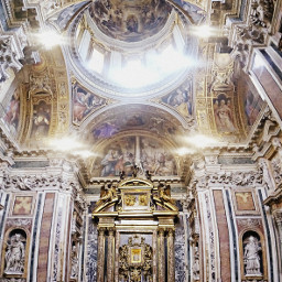 travel rome catedral colorful photography