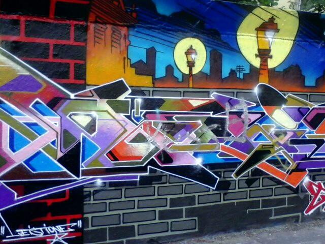 #colorful #city #berlin #streetart