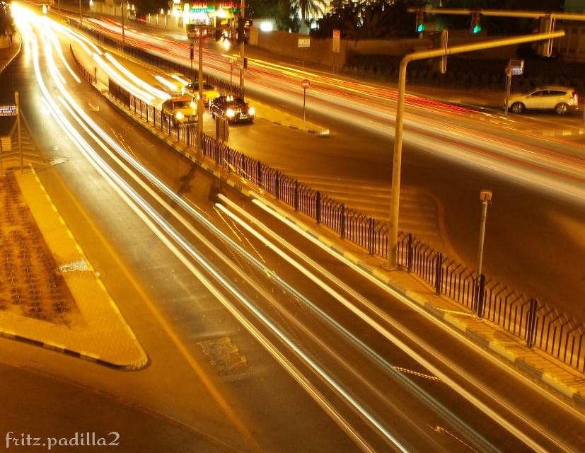 My 3rd attempt of  #lis #ligthstrails #lights #alwaslroad #MyDubai