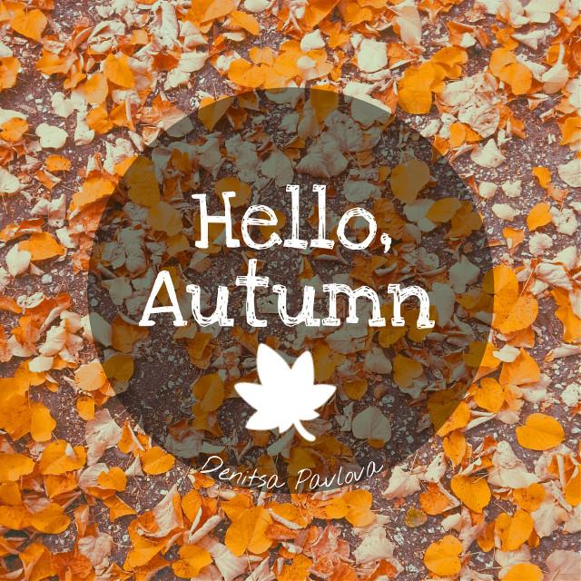 #wapautumn Hello Autumn!         🍁  #orange #fall #quotesandsayings  #Autumn #leaves